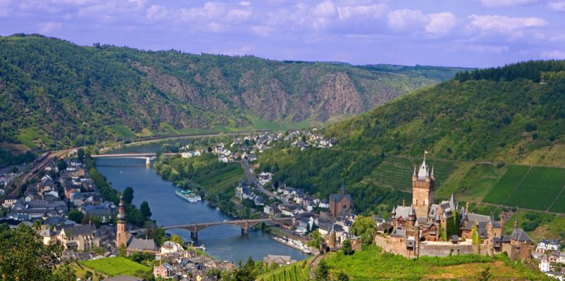 Cochem on the Moselle