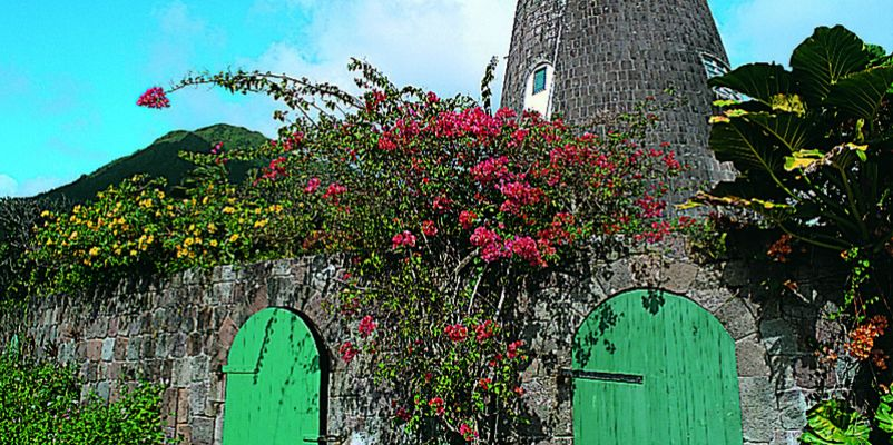 Old Sugar Mill of St.Kitts