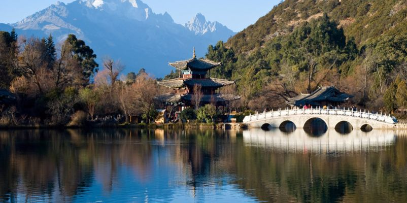 Heillongtan, Black Dragon Pool at Lijiang, China
