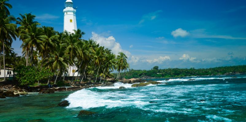 Lighthouse Dondra Head, Sri Lanka