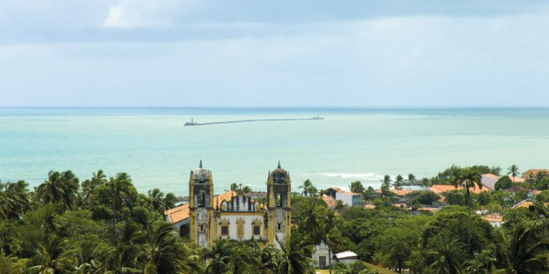 Recife City and Bay