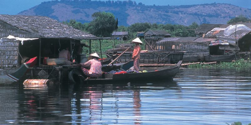 Floating Village, River Mekong