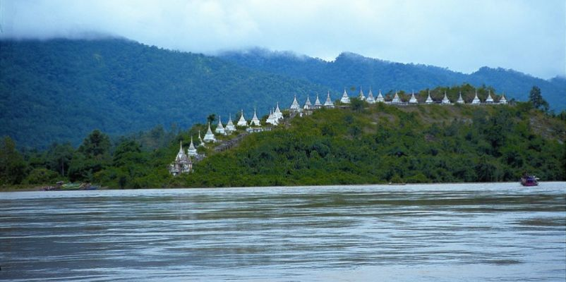The Chindwin, Myanmar