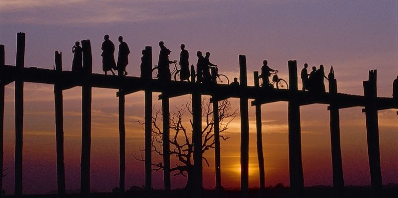 U-Bein Bridge, Amarapura