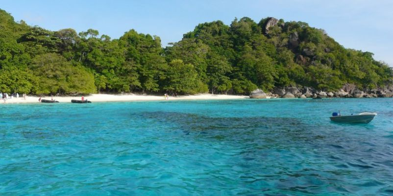 Ko Miang Similan Islands Thailand