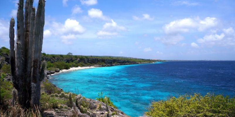 View over bay in Bonaire