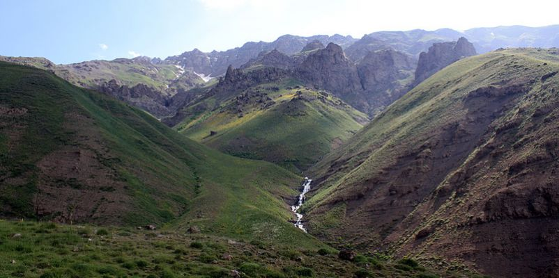 Taleghan Mountain, Northen Iran