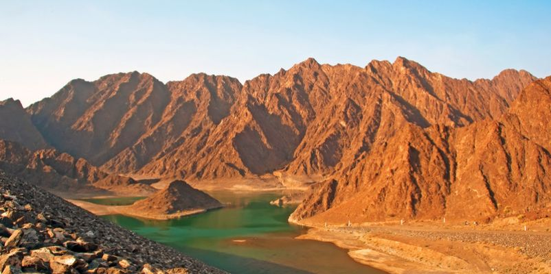 Hatta Lake, UAE