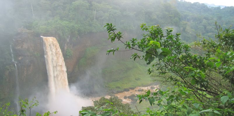 Waterfall, Cameroon, Africa