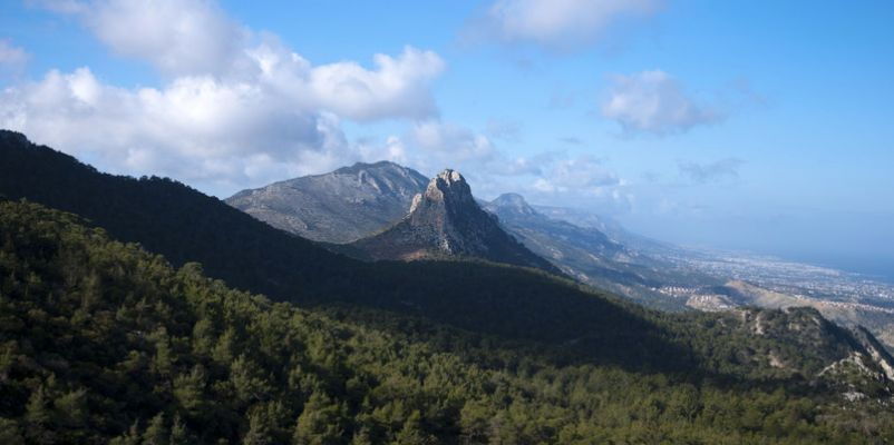 The five fingered mountain, Northern Cyprus