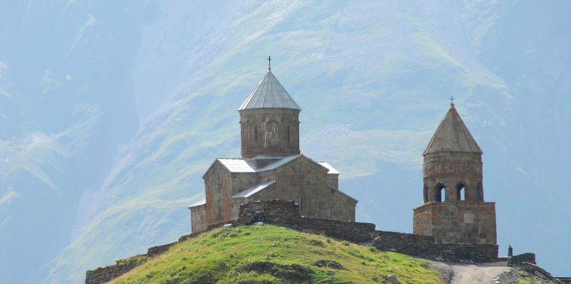 Gergeti Church - Georgia