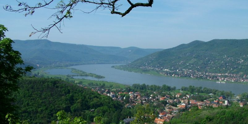 Visegrad lookout point, Hungary