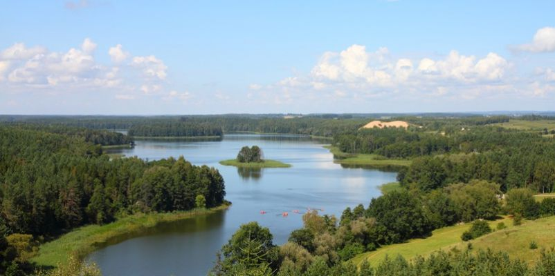 Masuria (Mazury) - famous lake district in Poland