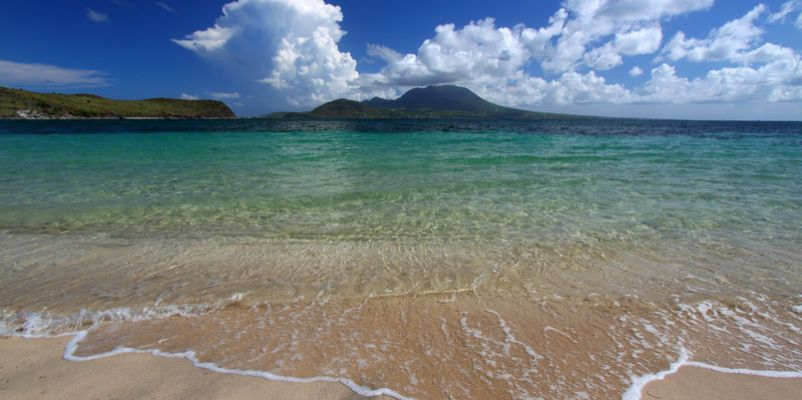 Majors Bay Beach on St Kitts