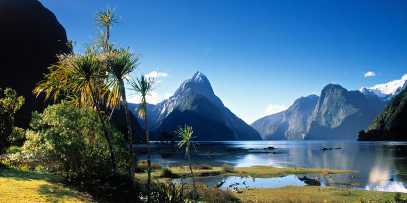 Mitre Peak, Milford Sound, Fjordland, New Zealand