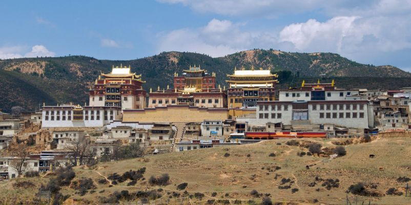 Songzanlin Monastery , Tibet, China