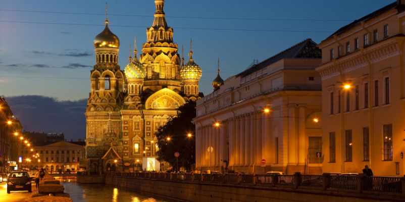 Church on Spilled Blood, St Petersburg