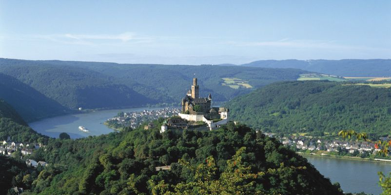 Marksburg Castle on the Rhine