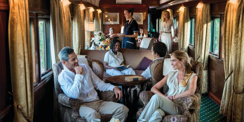 Pride of Africa - Lounge car