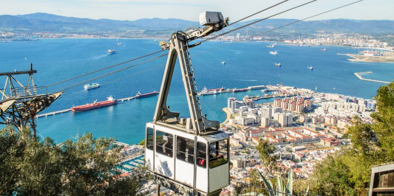 Cable car, Gibraltar