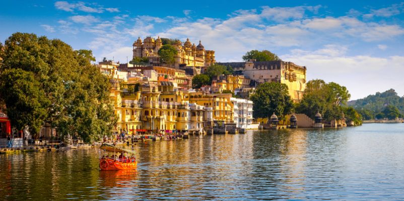 Lake Pichola and the City Palace