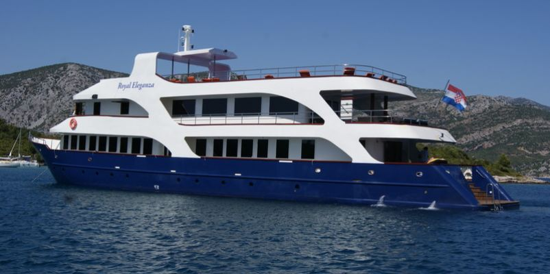 Royal Eleganza Dalmatian Coast Cruises Noble Caledonia - Small ship cruises for dalmatian coast