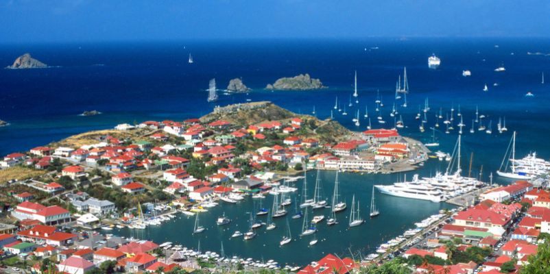 Gustavia harbour, St Barts