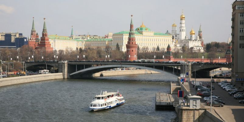 Moscow from the river