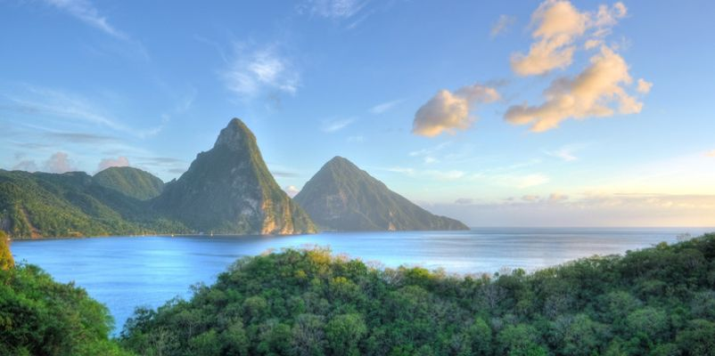 The Pitons, St.Lucia