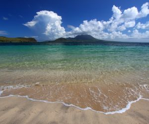 Beach on St Kitts