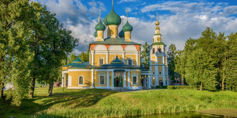 Cathedral of the Transfiguration in Uglich