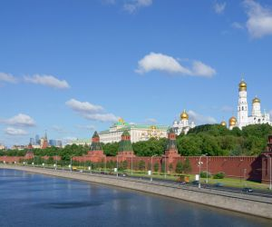 Moskva River and the Moscow Kremlin