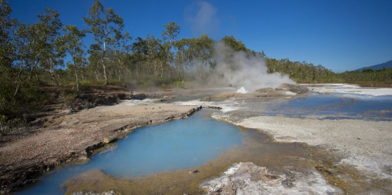 Hot Springs, Fergusson Island