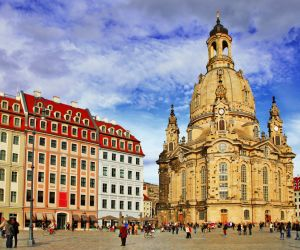 The Frauenkirche, Dresden
