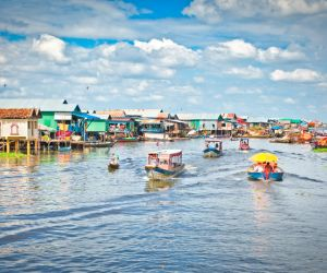 Tonle Sap Lake village