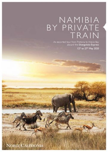 Namibia by PrivateTrain - Shongololo Express