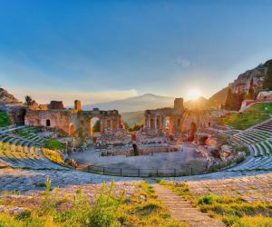 Greek theatre at Taormina