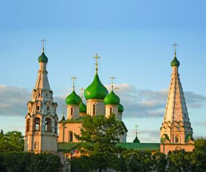 Domes of the Church of Elijah the Prophet, Yaroslavl