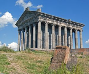 Hellenic temple at Garni