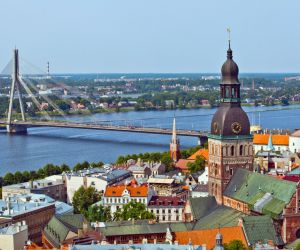 Riga Cathedral and thwe Old Town, Latvia