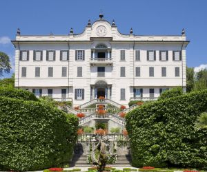 The Villa Carlotta on Italy's Lake Como