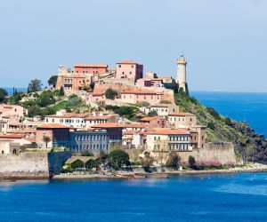 The Old Town of Portoferraio, Elba
