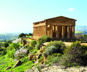 Temple of Concord in the Valle de Templi, Agrigento