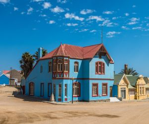 Colorful houses, Luderitz