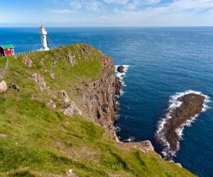 Akraberg Lighthouse, Faroes Islands