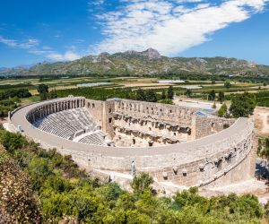 The amphitheatre at Aspendos