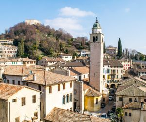 The picturesque town of Asolo