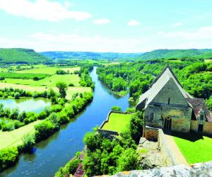 River Dordogne from Chateau Beynac