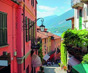 Colourful streets of Bellagio