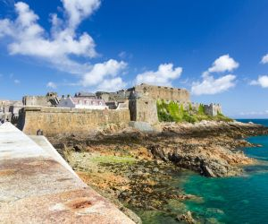 Castle Cornet on the Island of Guernsey